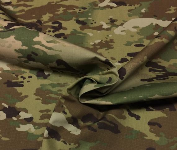 OCP Military Camouflage NYCO Soft Hand Twill Fire Retardant Army Military Spec Camo Apparel Uniform Crafts Bags Fabric 64W