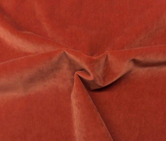 Ballard Designs Queens Velvet Pumpkin Orange Pillow Cushion Etsy