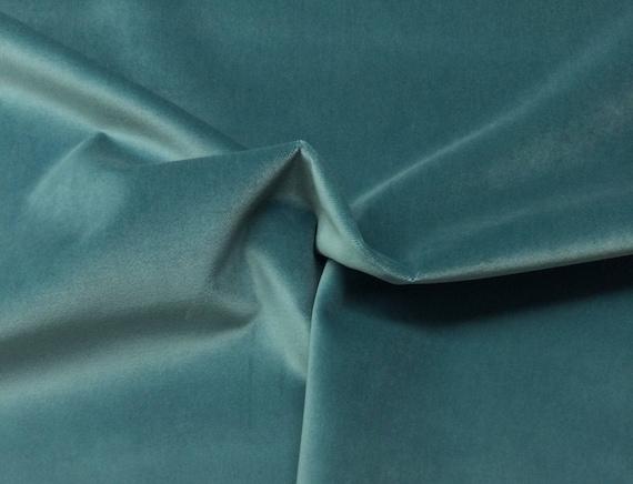 Ballard Designs Queens Velvet Teal Blue Solid Pillow Cushion Etsy