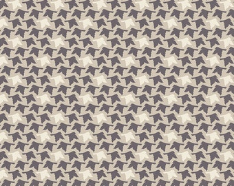 Modern Quilt Fabric, Winged Fabric, Bonnie Christine, Feathered Flight Acorn, Art Gallery Fabrics, Modern Fabric, Brown Fabric, Flying Birds