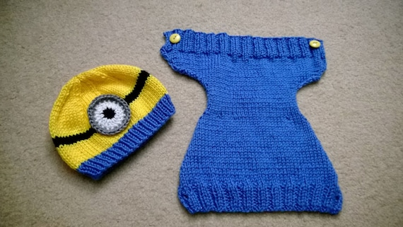 Pattern  Yellow Monster Baby Set Diaper Cover  49d84c3b3486