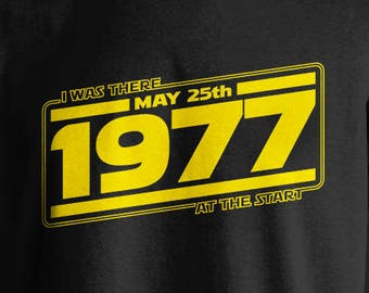 There at the Start - Star Wars themed T-shirt