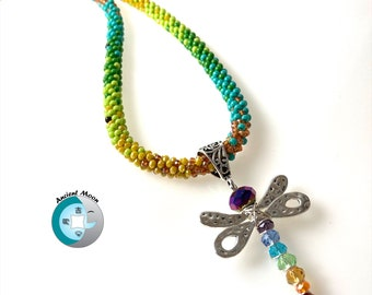 Dragonfly Wings Kumihimo Necklace Kit