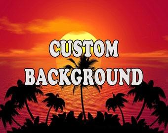 Custom Aquarium Background by Petbackdrops