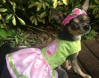 Tiny Dancer Dog Dress