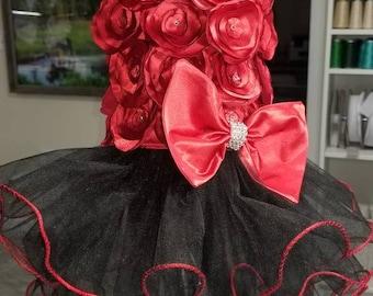 Sassie Lassie Rossette Dress/Wedding/Special occasion