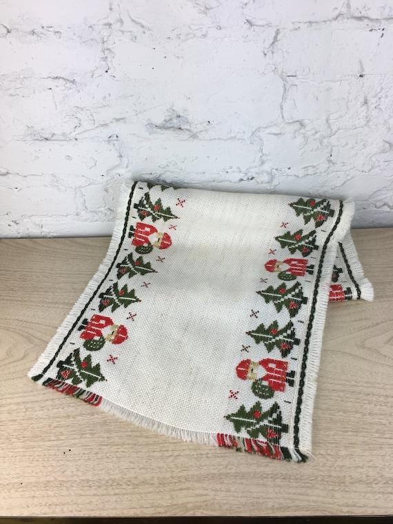 Vintage German Christmas Table Runner