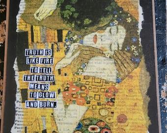NEW!!  Gustav Klimt Art Card