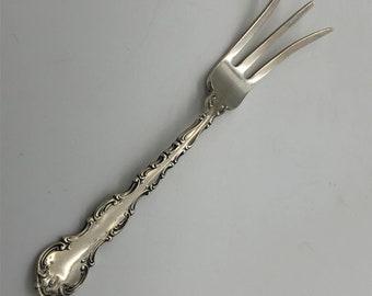 Old Mark Gorham Strasbourg Sterling Silver Lemon Fork