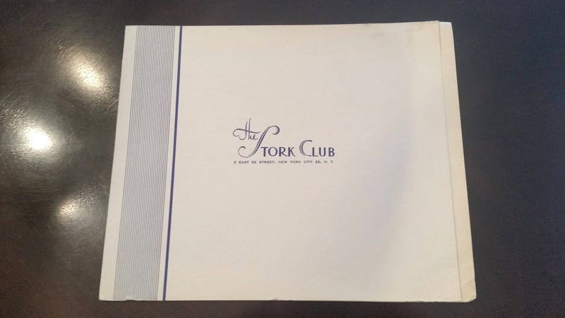 The Stork Club Photograph Cover image 0
