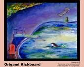 Kickboard Painting