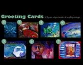 Individual Greeting Cards (Acrylic)