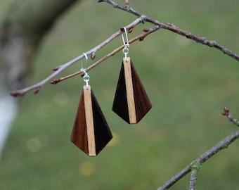 Earings - Wooden earings