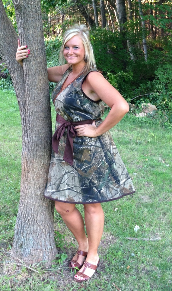 Women\'s camo dress, misses, plus size