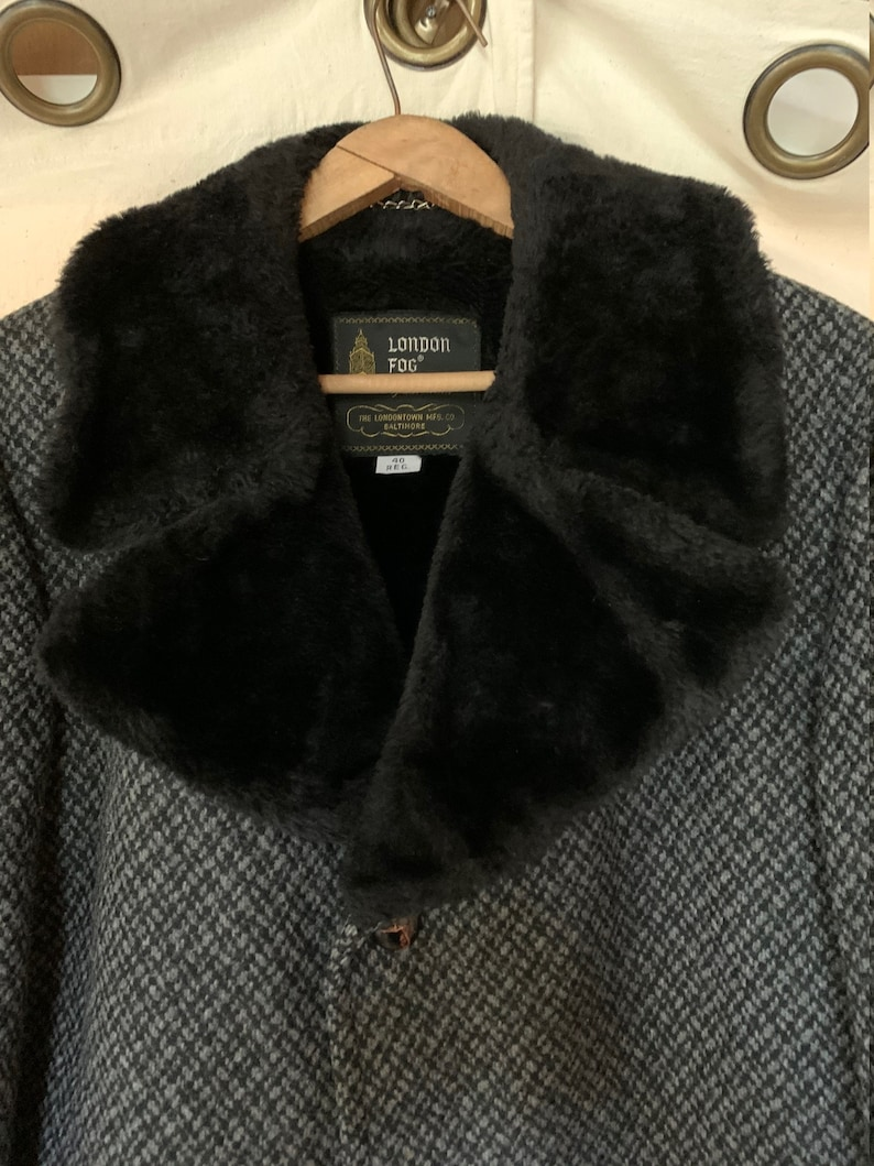 London Fog Outer Wear Heavy Coat from the 1970/'s
