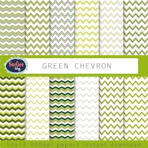 CHEVRON DIGITAL PAPER Orange Cream Chevron pattern paper Commercial free Chevron paper Scrapbook paper Chevron background Chevron digital
