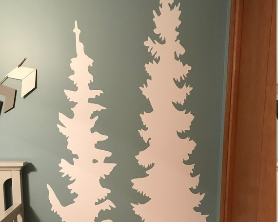 Tree Wall Decal, Home Wall Decal, Children Room Wall Decal, Tree Silhouette Wall Sticker