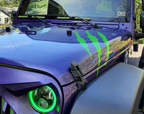 Monster Scratch Decal, Claw Scratch Sticker, Claws Sticker, Auto Decal Scratch Mark