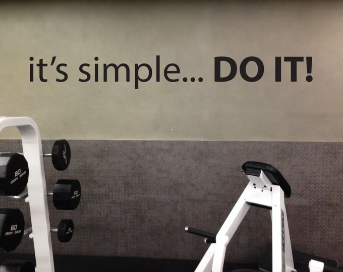 Gym wall decals and more by jandicographix