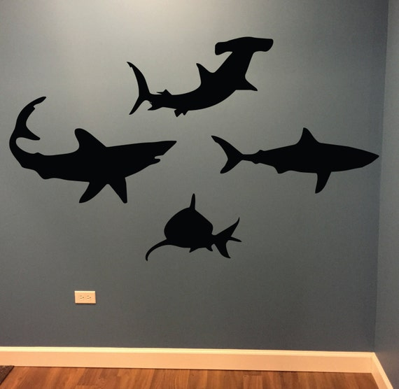 Shark Wall Decals, Kids Room Decorating Ideas