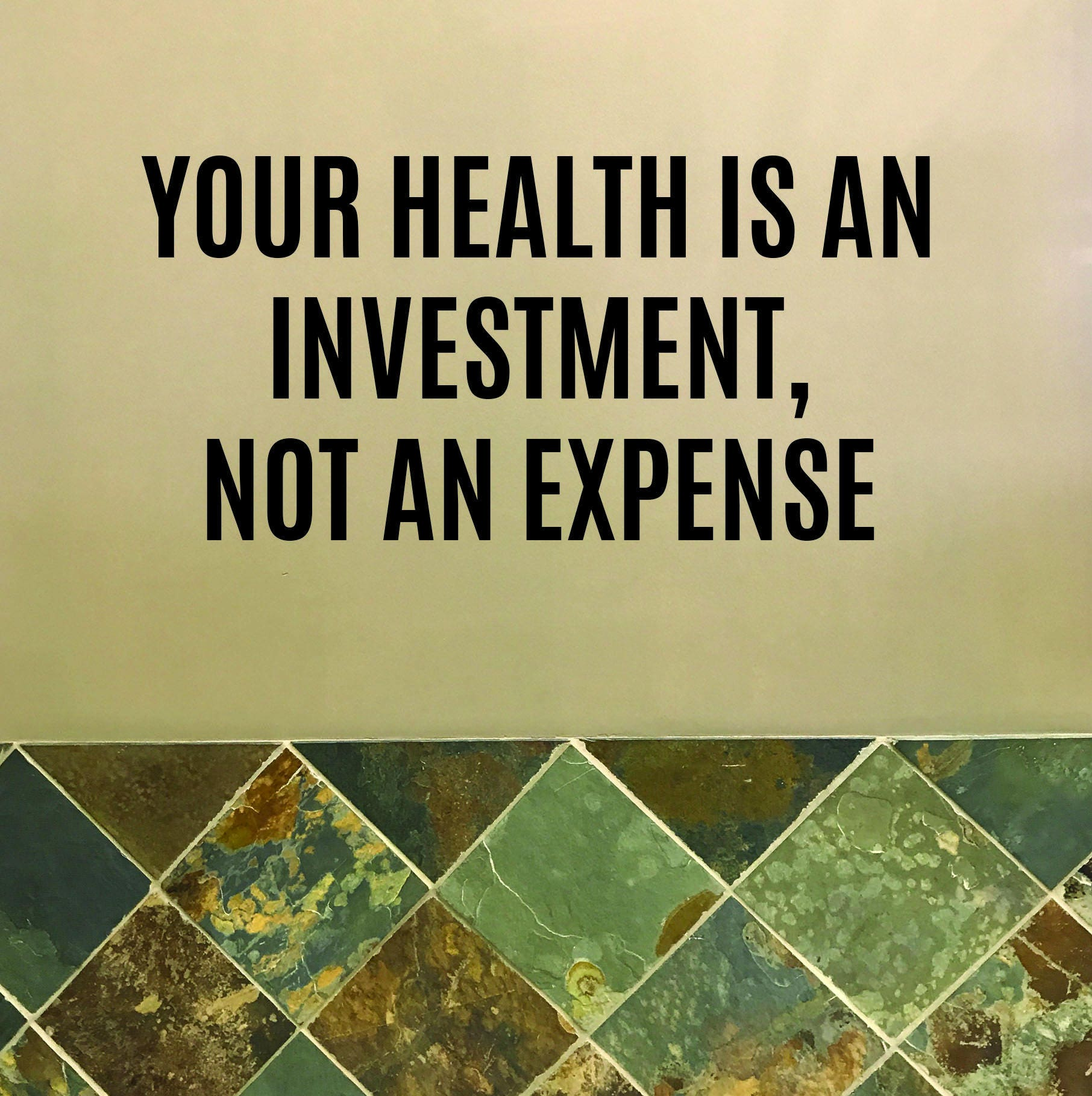 Running Store Decor, Fitness Shop Decor, Healthy Living Decor, Your ...