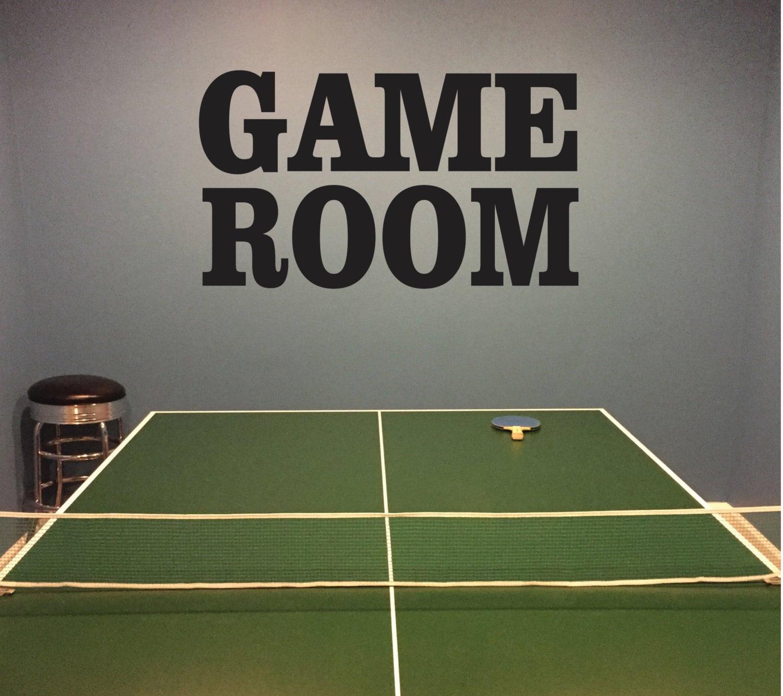 sticker mural de salle de jeux salle de jeu sous sol. Black Bedroom Furniture Sets. Home Design Ideas