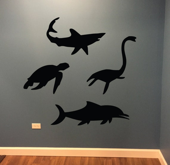 Sea Animal Wall Decal, Kids Room Decorating Ideas, Sea Life Theme