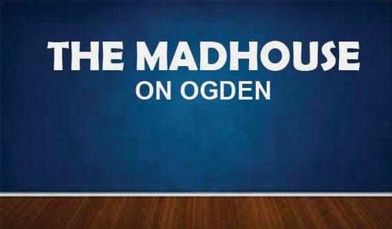 Custom Madhouse on Madison Wall Art Vinyl Decal,