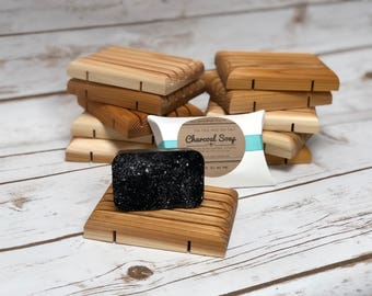 Activated Charcoal Face Soap. Tea Tree and Charcoal Soap. Facial Soap. Charcoal Soap. Cleansing Soap. Homemade Bar Soap.