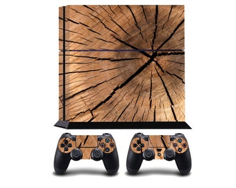 9617771675d29 Ps4 wood skin | Etsy