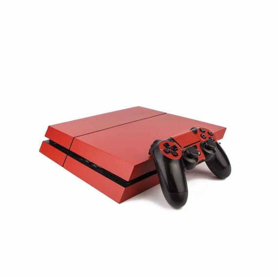 Vinyl Revolution Playstation 4 Slim Skin pour Console Playstation 4 Slim Motif PS4