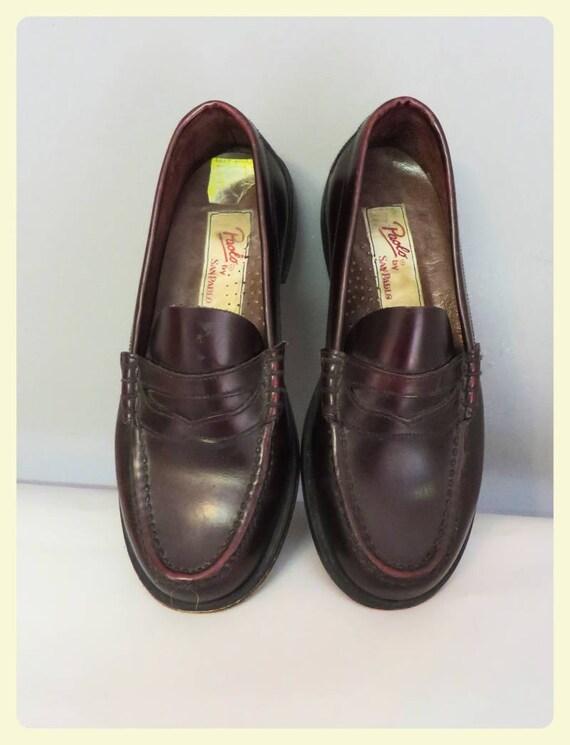 Vintage femme chaussures mocassins des années 40 50 s style   Etsy 8f227a91bd82