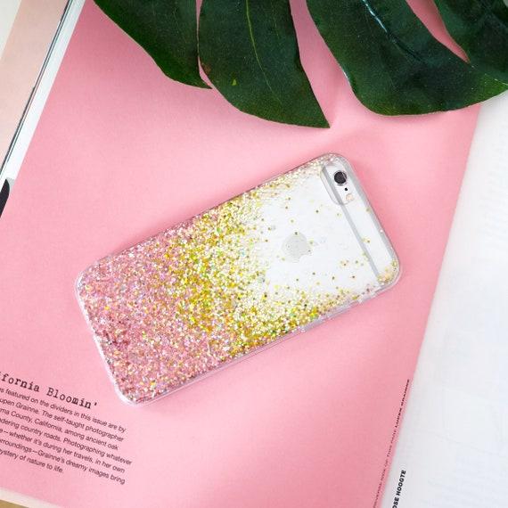 Rose Gold Glitter Case Iphone X Case Iphone 8 Plus Case Iphone 8 Case Iphone 7 Plus Case Iphone 7 Case Iphone Case Samsung Case
