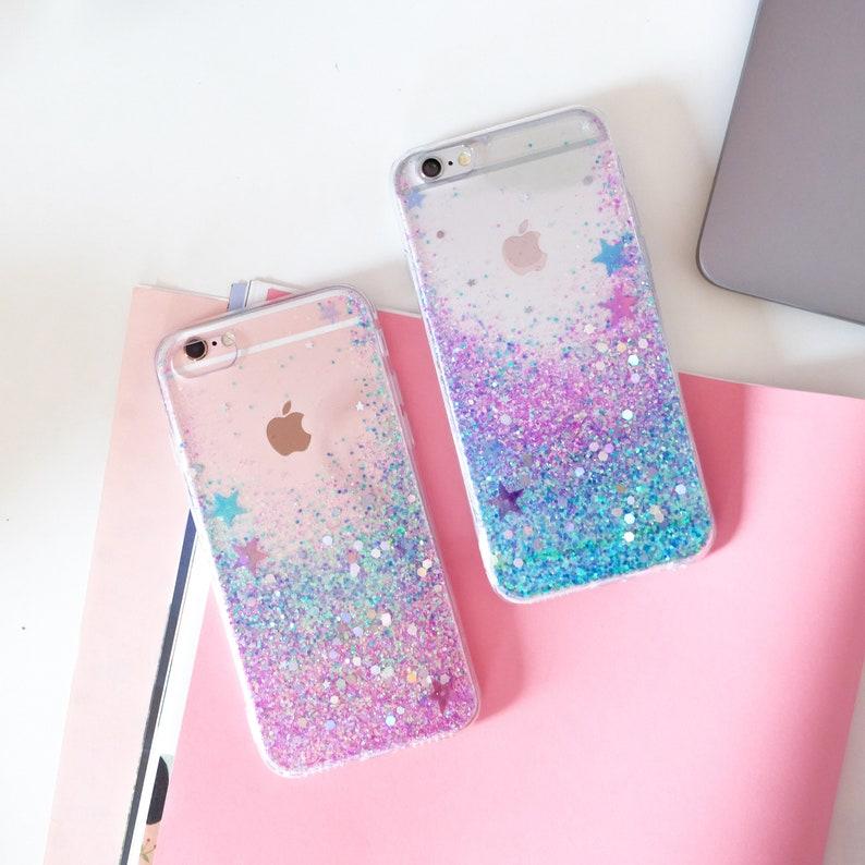 100% Unicorn Glitter Phone Case