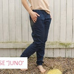 """Trousers """"Juno"""" size 34-48 cut pattern sewing instructions"""