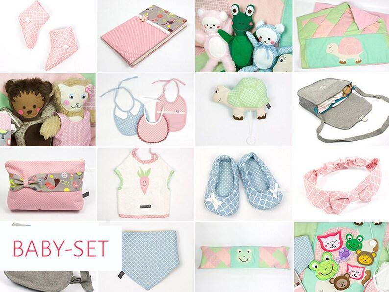 Ebook-Set Baby: 14 Schnittmuster zur Geburt image 0