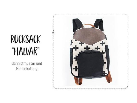 Schnittmuster Rucksack Halvar PDF-Ebook | Etsy