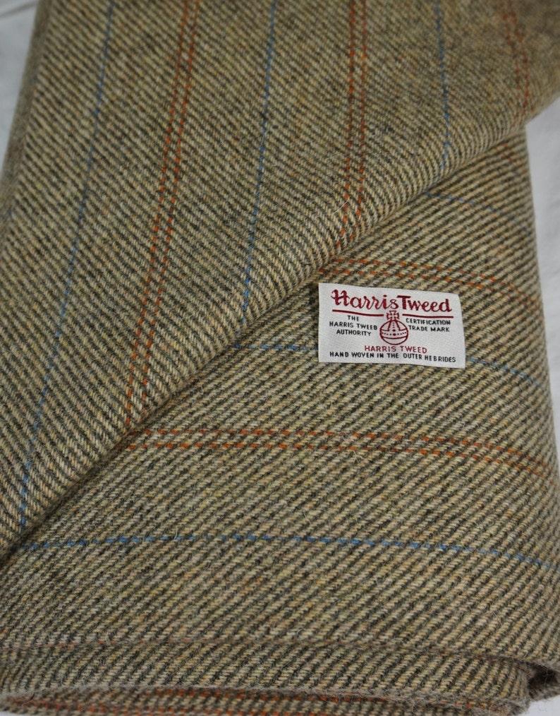 Harris Tweed Fabric /& labels 100/% wool Craft Material various Sizes code.sep64