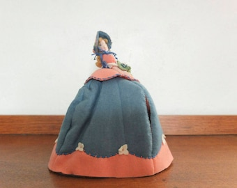 Mid Century Felt Tea Cosy Doll