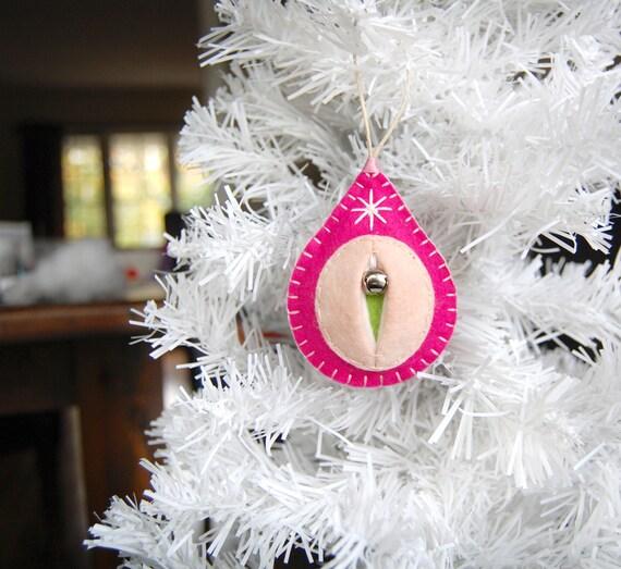 Scheide Ornamente FTW Betty die heißen rosa Weihnachten | Etsy