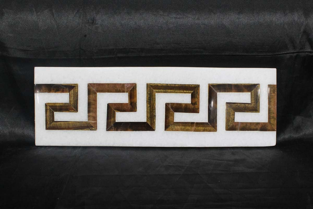Marmor Intarsien Fliesen Mughal Kunst Wohnkultur   Etsy