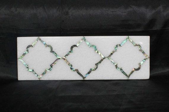 Marmo intarsiato piastrelle pietra dura vintage art etsy
