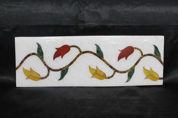 Backsplash Küche Fliesen Pietra Dura Art Marmor Intarsien mit | Etsy