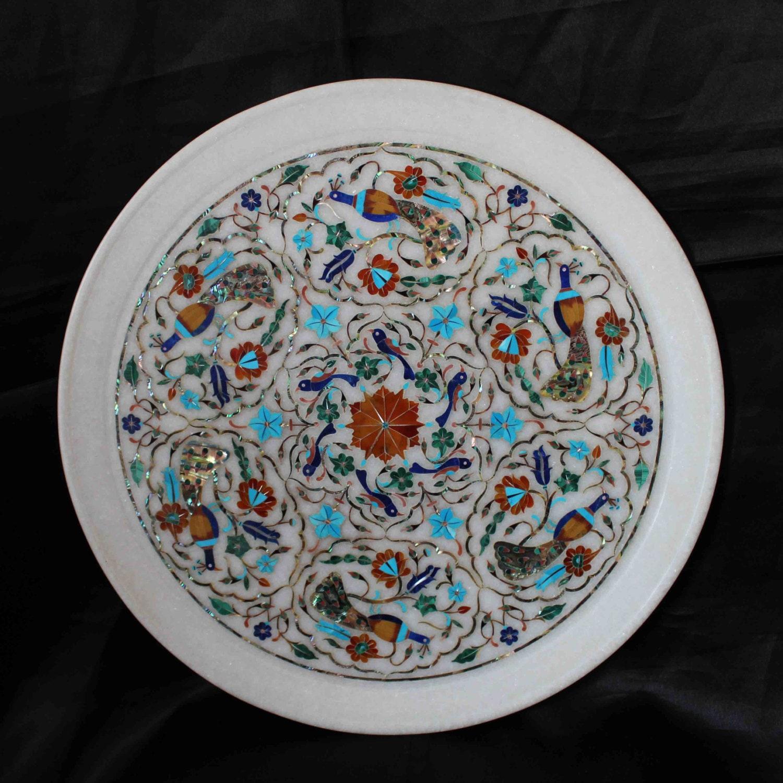 Weihnachtsgeschenke Dekorative Marmorplatte Taj Mahal