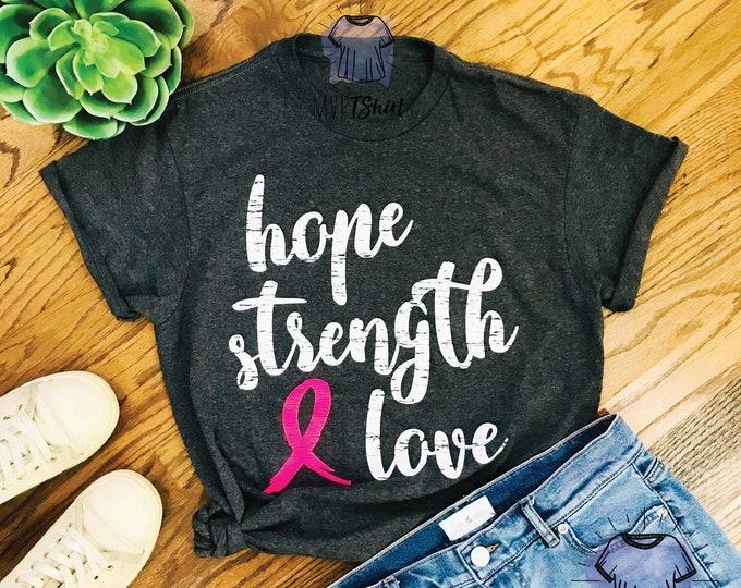 Hope Strength Love