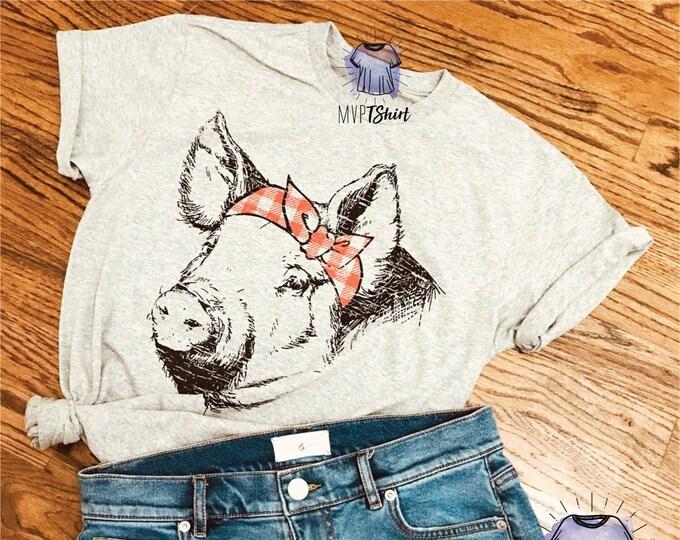 Pig Bandana