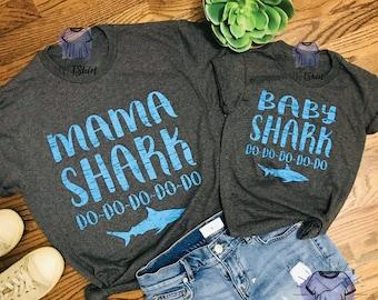 MaMa Shark & Baby Shark