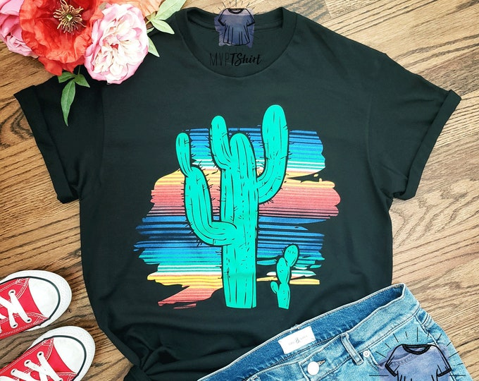 Cactus Serape Adult and Youth