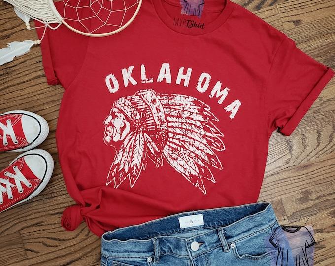 Oklahoma Indian Chief