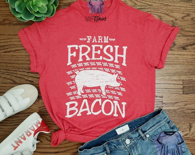 Farm Fresh Bacon Pig